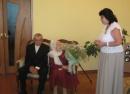 Супруги Лебедевы-бриллиантовая свадьба