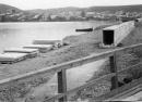 Строительство дамбы, соединяющей центр города с мкр.Запрудовка 1976 г.