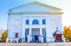Отреставрированная Церковь Иоанна Предтечи