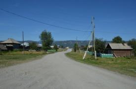 Улица с.Тюлюк